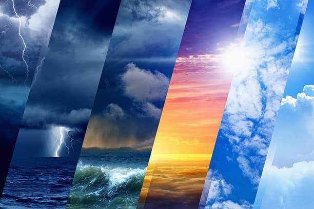 faire face aux conditions météorologiques