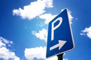 signalisations de parking d'un événement