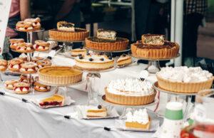 tartes pour un mariage