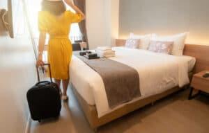 hébergement facile dans un hôtel