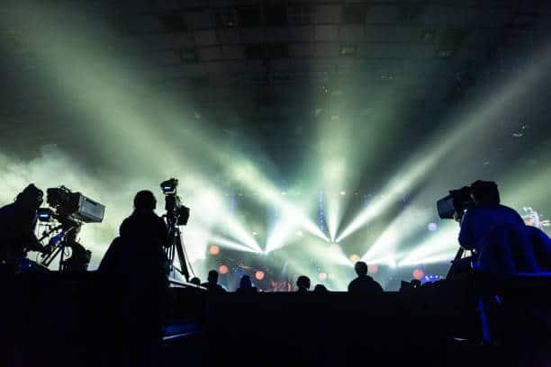 l'éclairage et l'aspect audiovisuel des événements