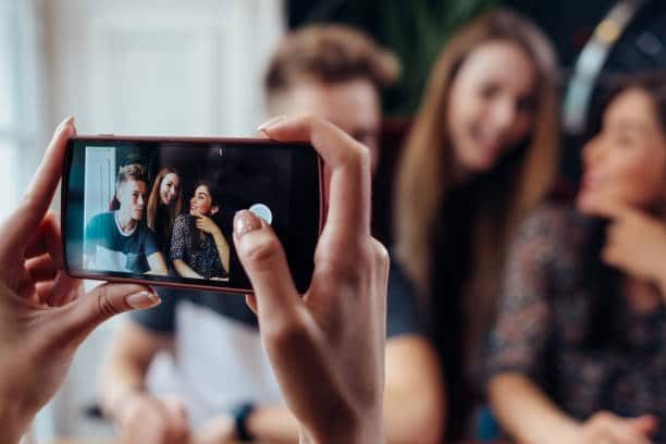 photographie événementielle smartphone